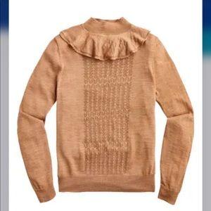 J Crew pointelle sweater